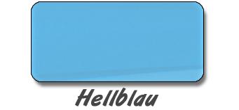 Hellblau | Folienfarbe Autoaufkleber