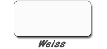 Weiss | Folienfarbe Autoaufkleber