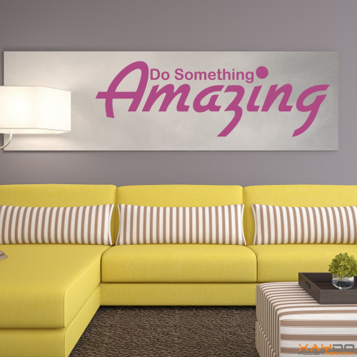"Wandtattoo ""Do Something Amazing"""