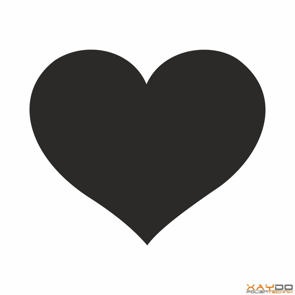 Autoaufkleber Herz