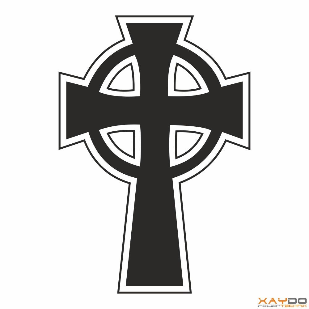 "Autoaufkleber ""Keltisches Kreuz"""
