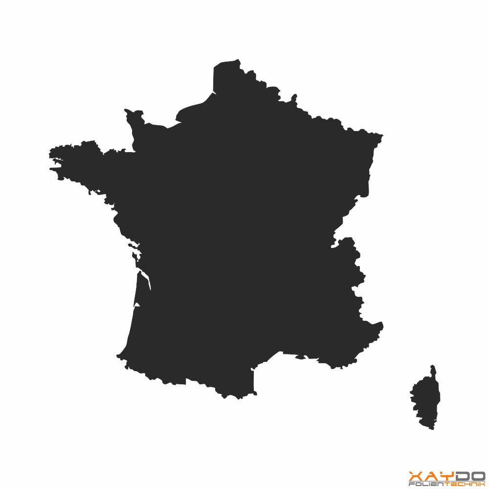 Autoaufkleber Frankreich