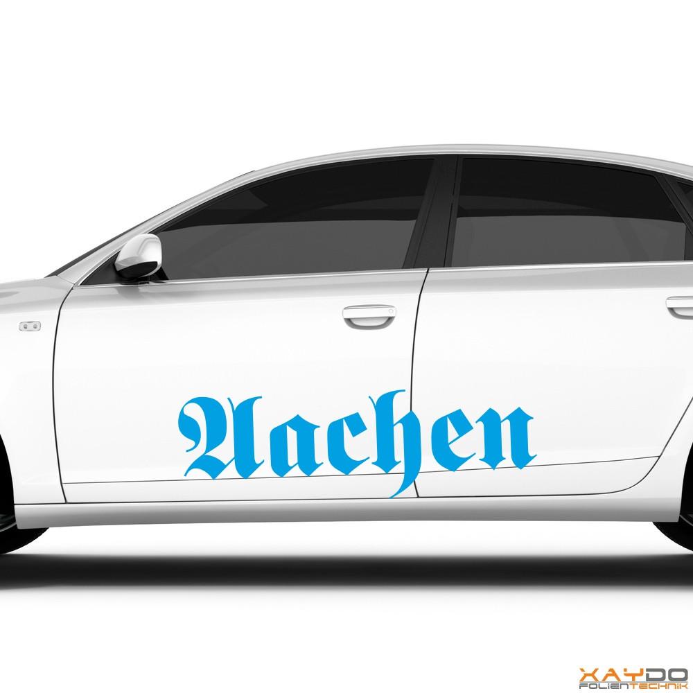 """Autoaufkleber """"Aachen"""""""