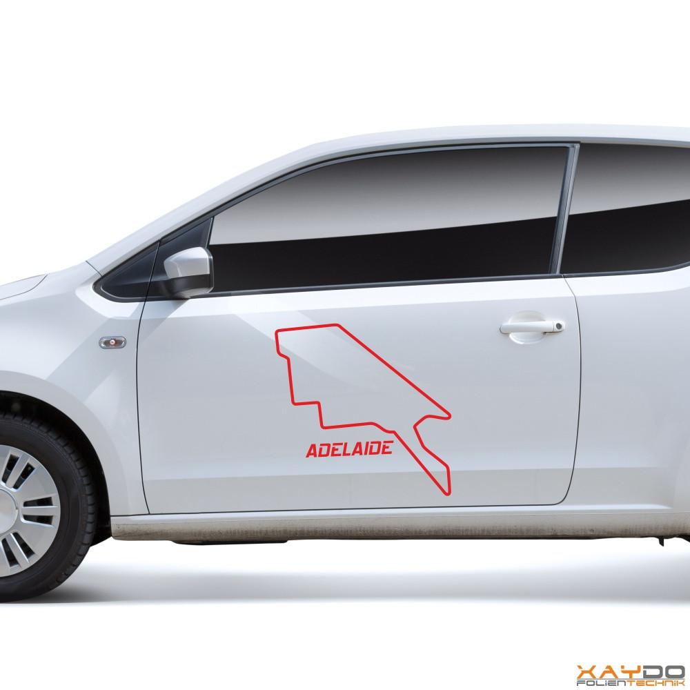 "Autoaufkleber ""Adelaide"""