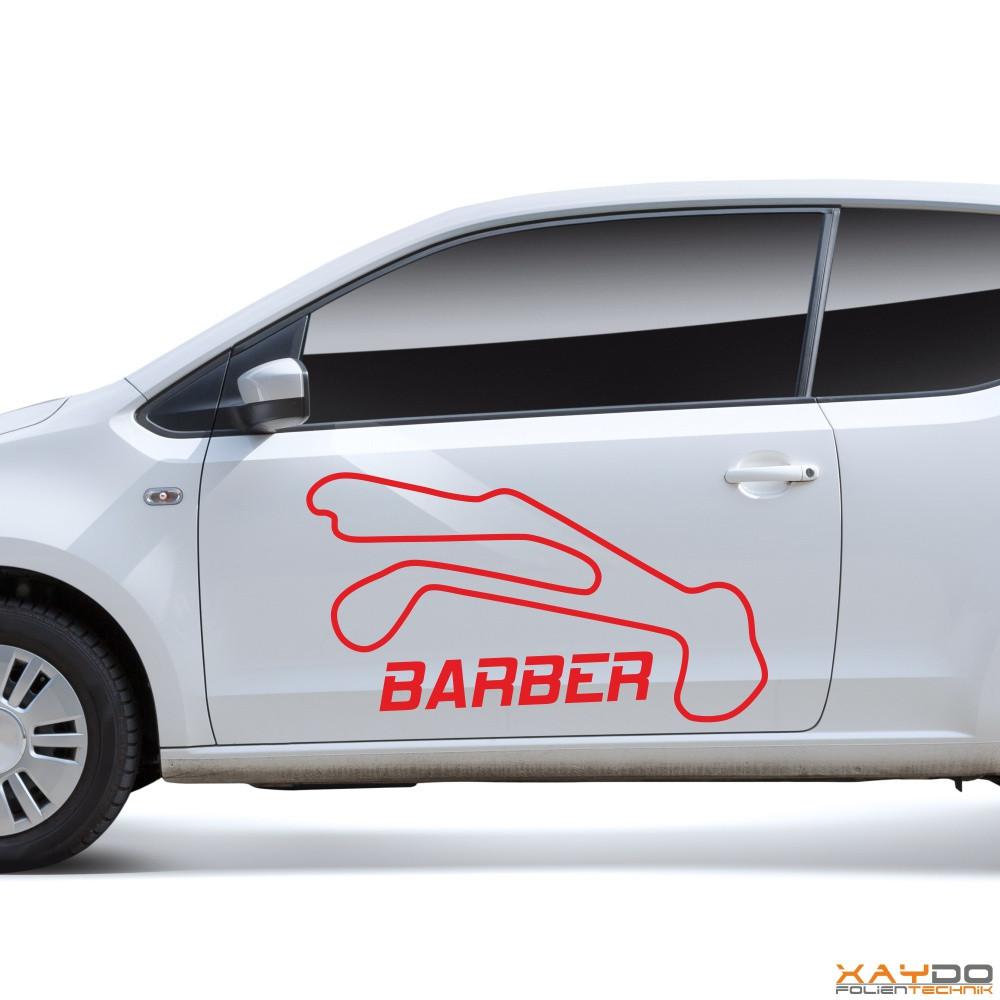 """Autoaufkleber """"Barber"""""""