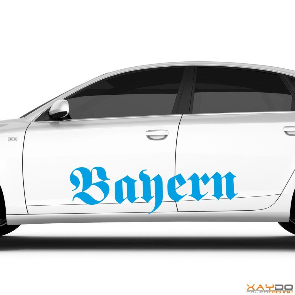 "Autoaufkleber ""Bayern"""