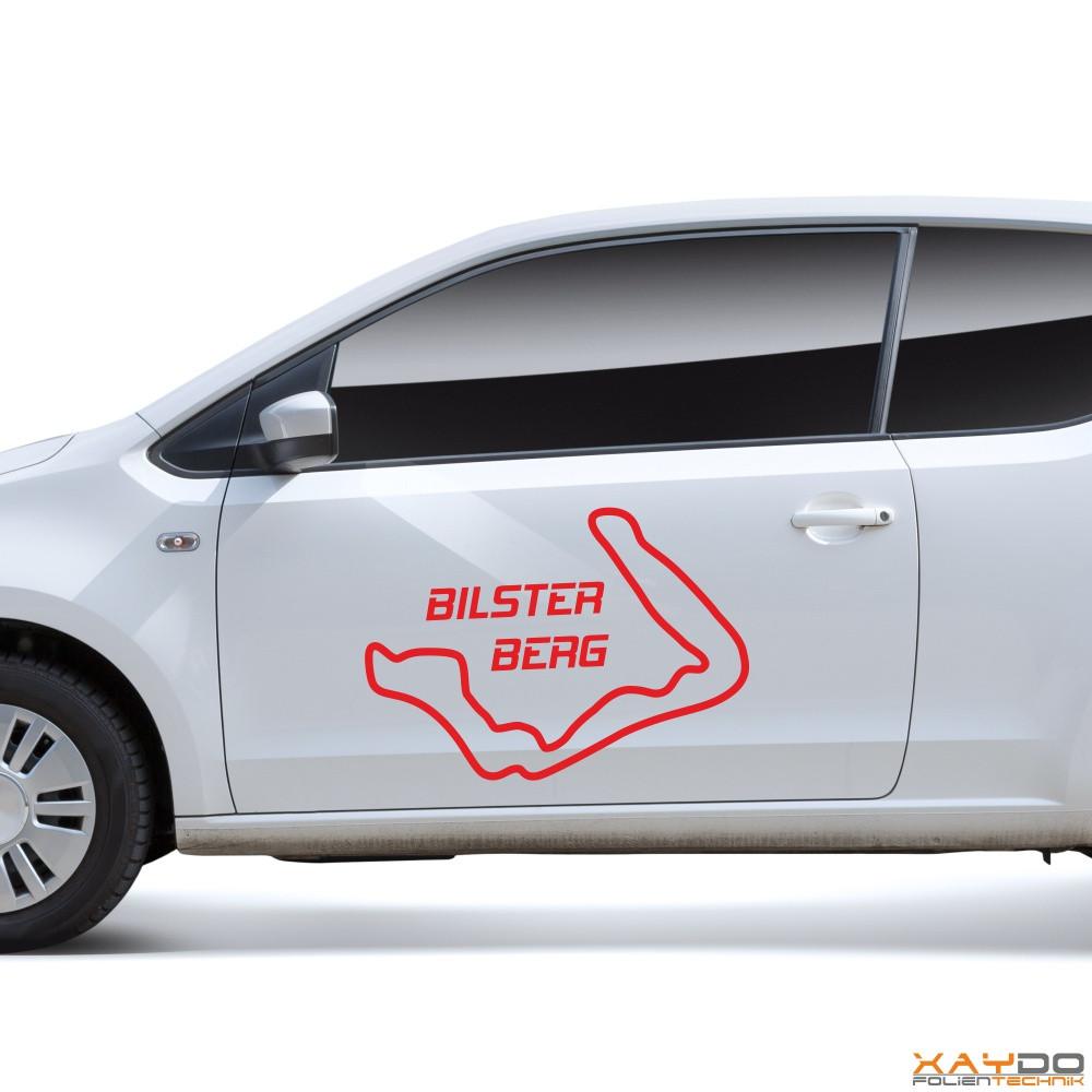 "Autoaufkleber ""Bilster Berg"""