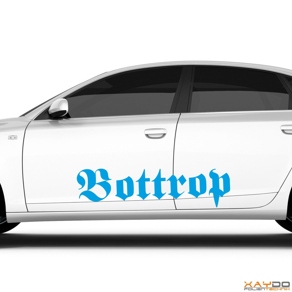 "Autoaufkleber ""Bottrop"""