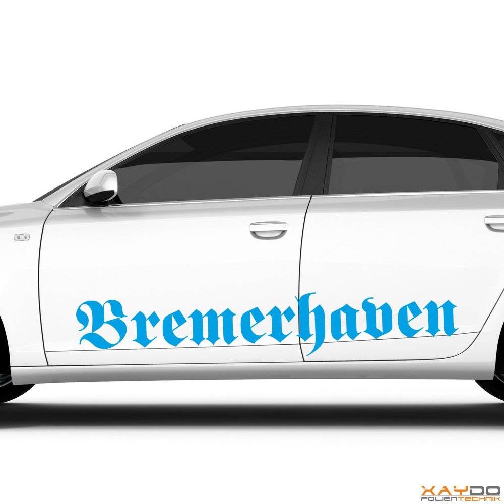 "Autoaufkleber ""Bremerhaven"""
