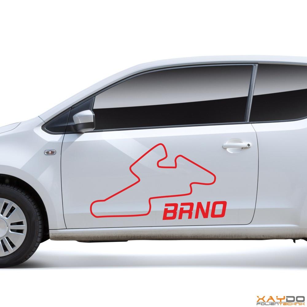 "Autoaufkleber ""Brno"""