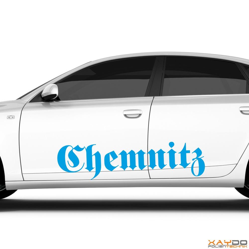 "Autoaufkleber ""Chemnitz"""