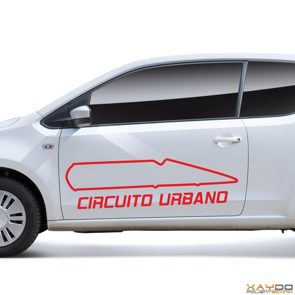 "Autoaufkleber ""Circuito Urbano"""