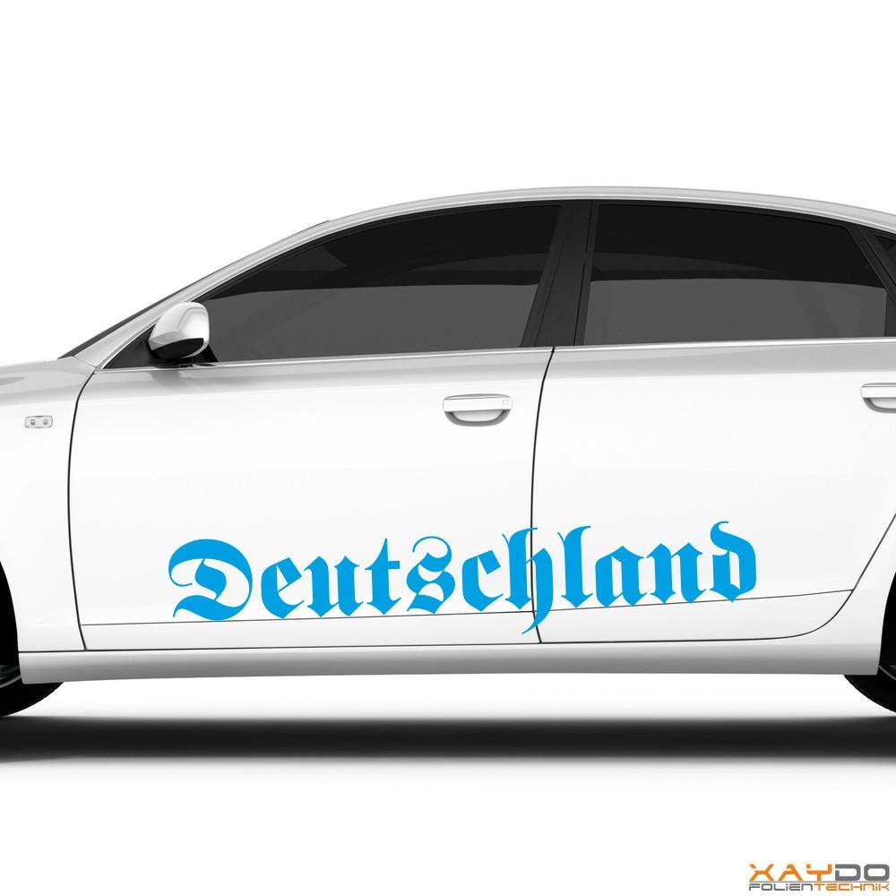 """Autoaufkleber """"Deutschland"""""""