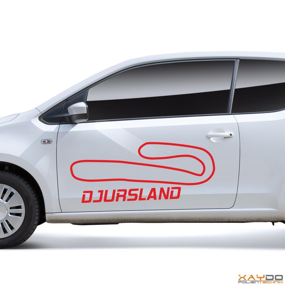 "Autoaufkleber ""Djursland"""