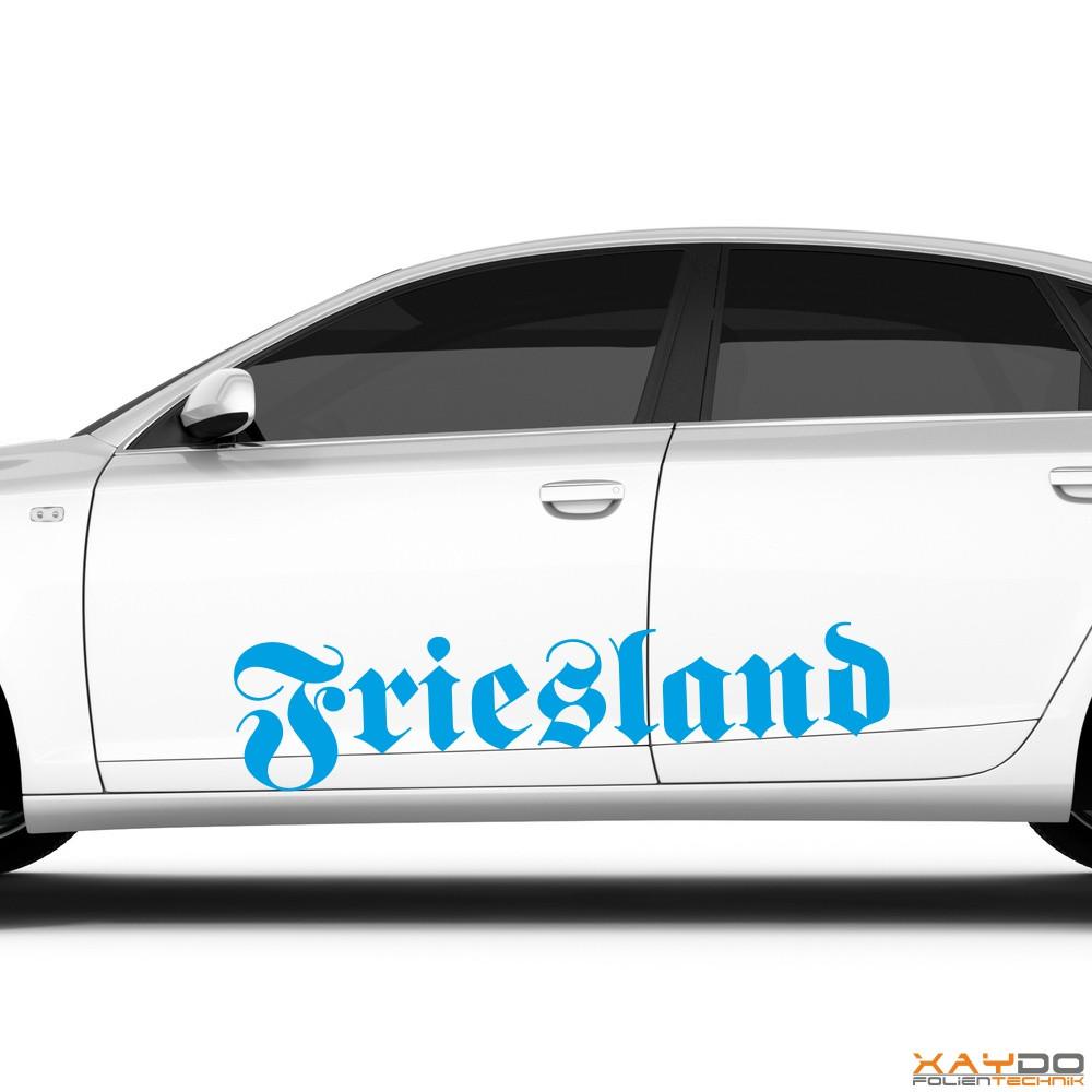 """Autoaufkleber """"Friesland"""""""