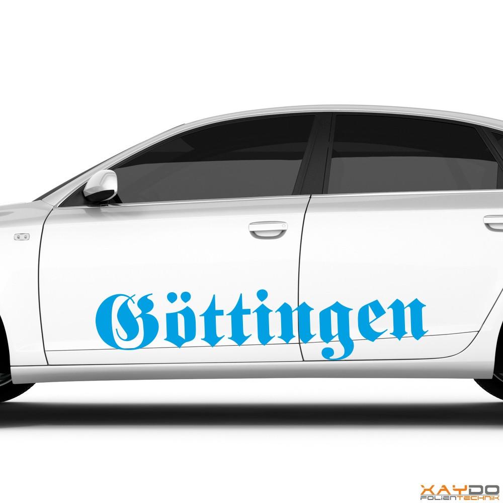 """Autoaufkleber """"Göttingen"""""""