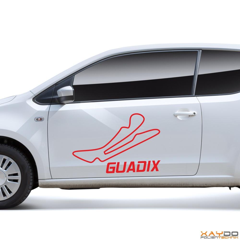 "Autoaufkleber ""Guadix"""