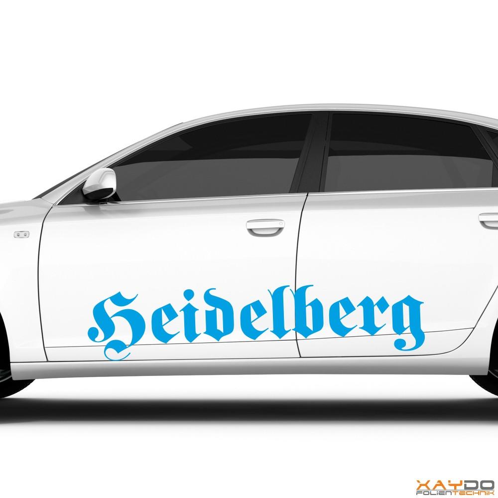"""Autoaufkleber """"Heidelberg"""""""