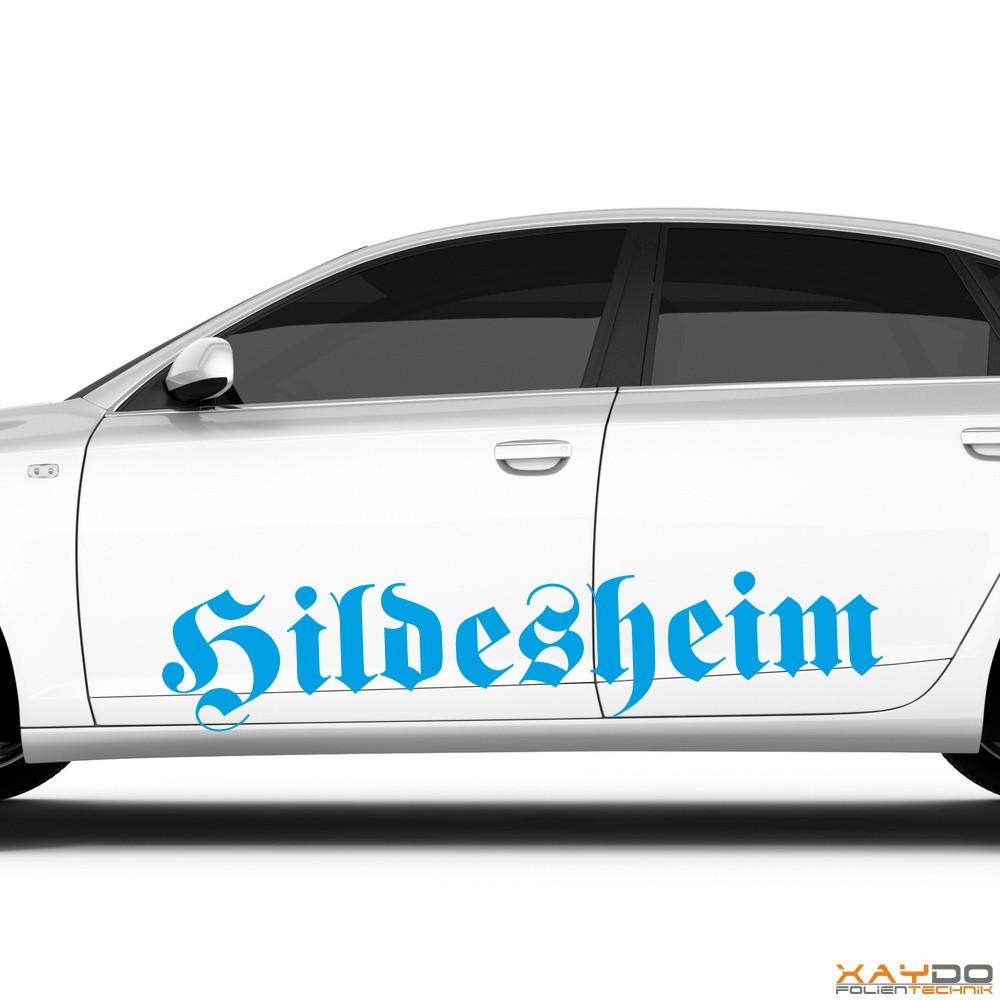 """Autoaufkleber """"Hildesheim"""""""