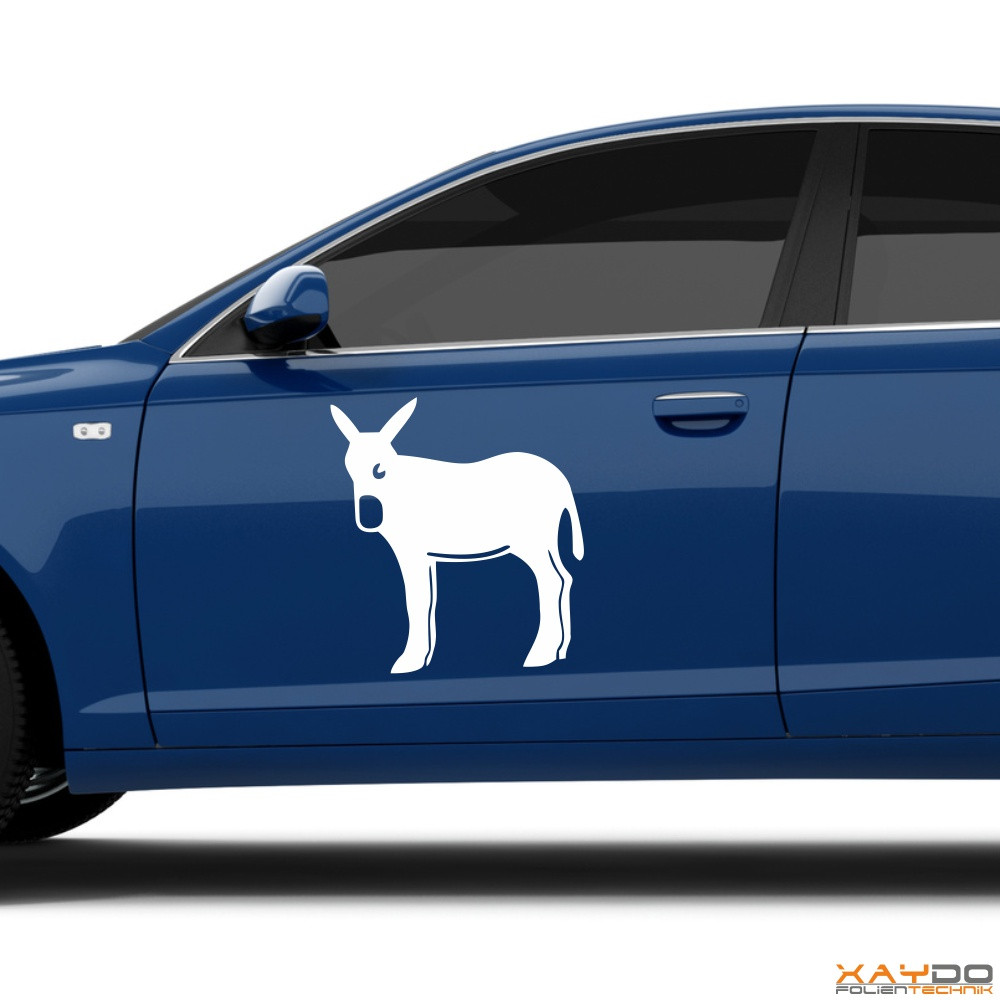 "Autoaufkleber ""Katalonischer Esel"""
