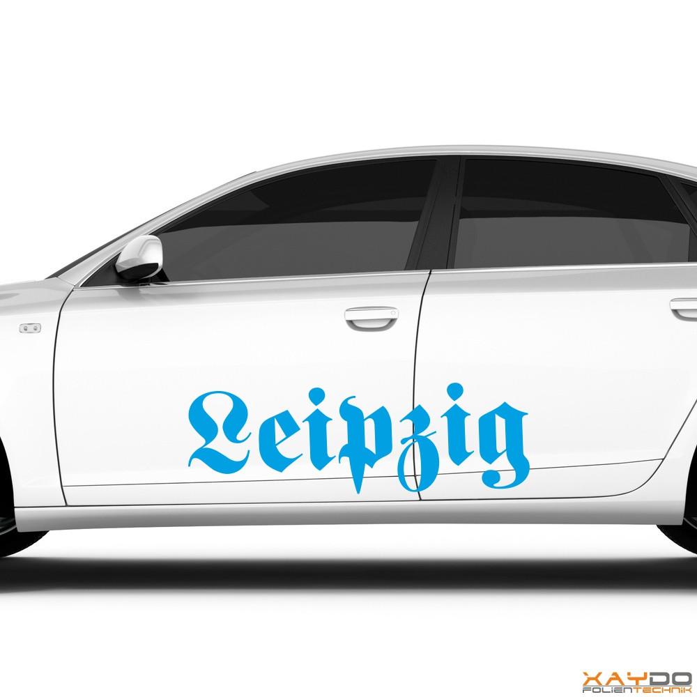 """Autoaufkleber """"Leipzig"""""""