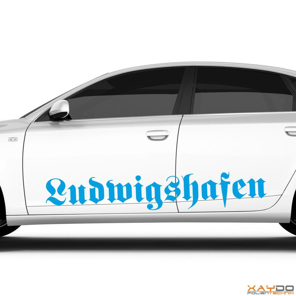 "Autoaufkleber ""Ludwigshafen"""
