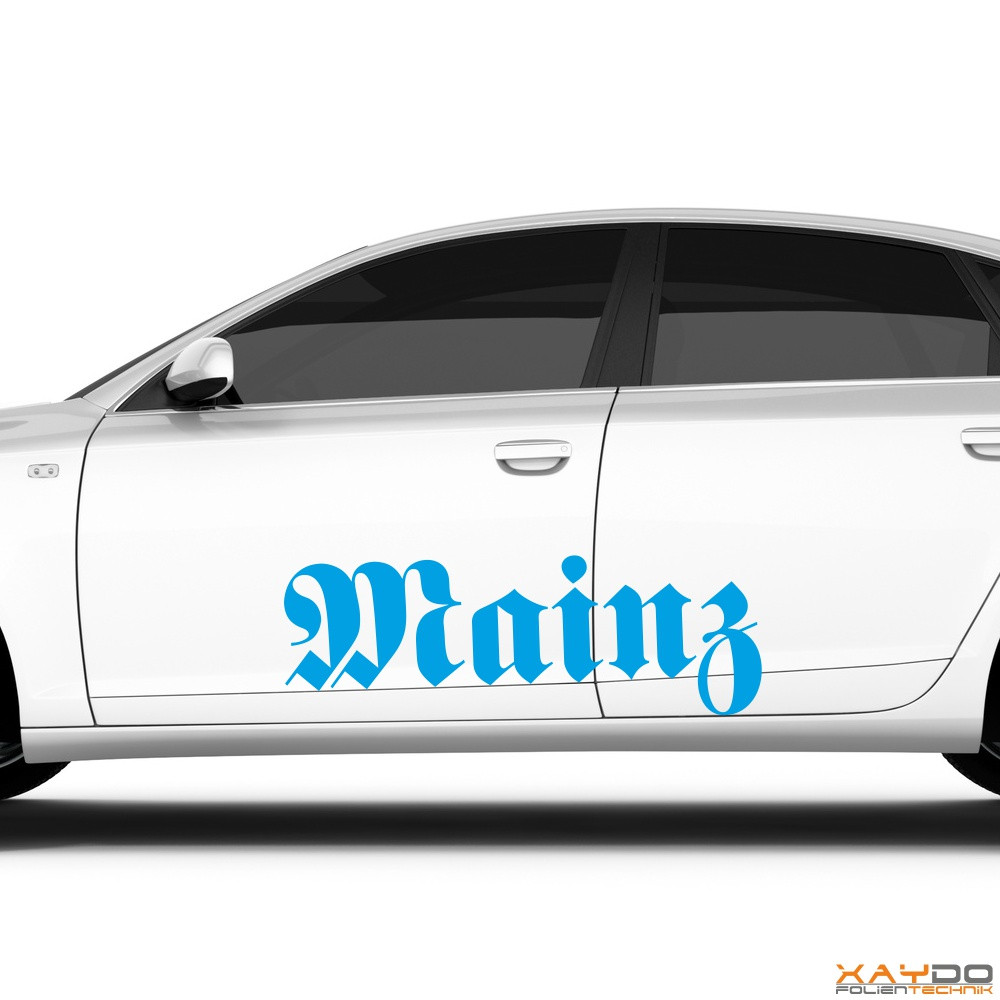 "Autoaufkleber ""Mainz"""