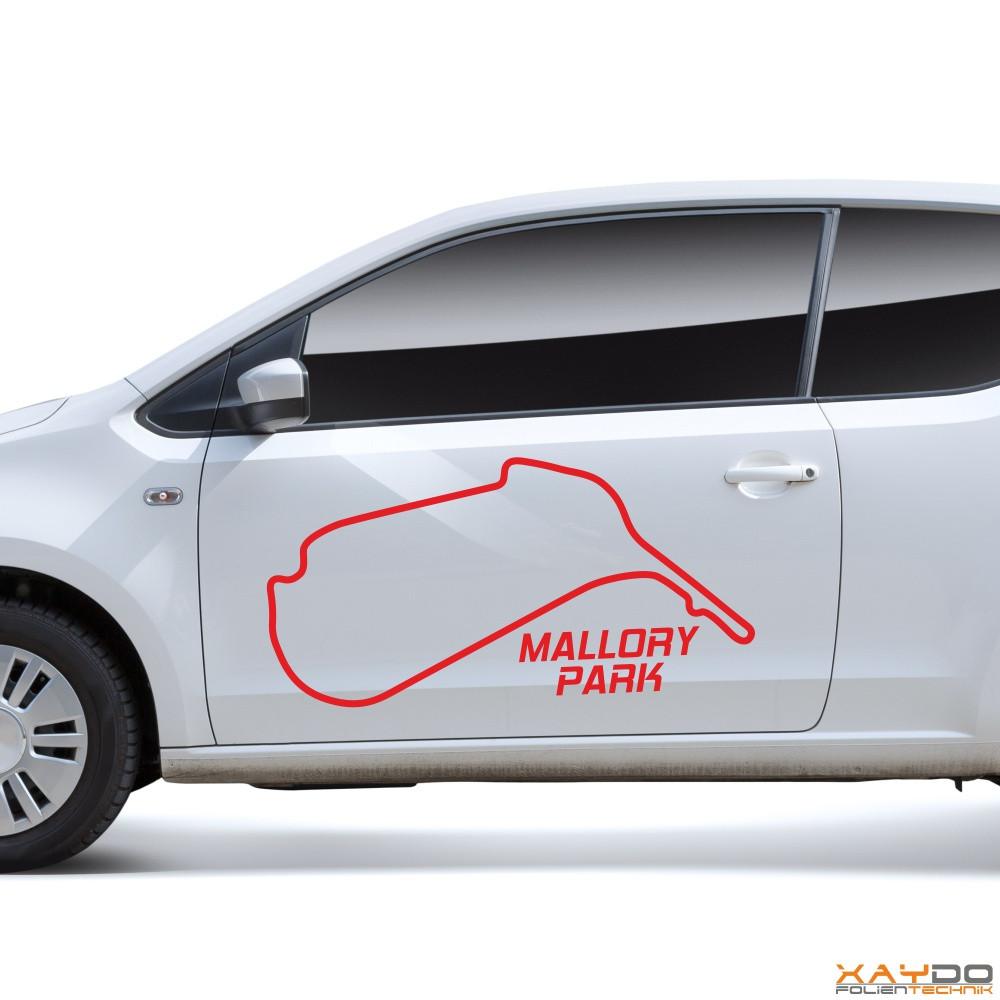 "Autoaufkleber ""Mallory Park"""
