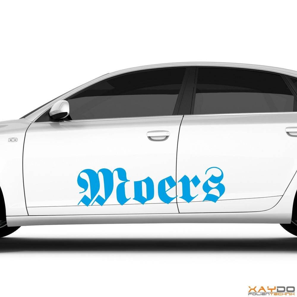 "Autoaufkleber ""Moers"""