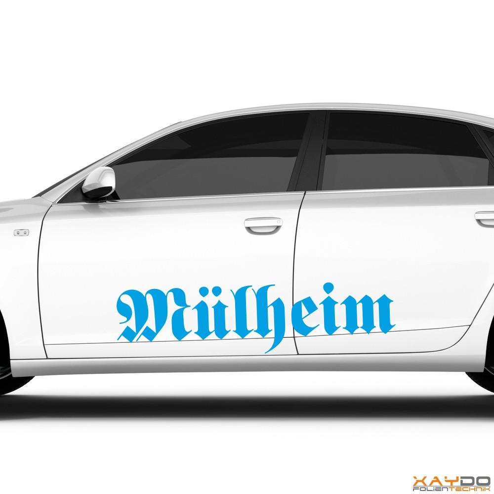 "Autoaufkleber ""Mülheim"""