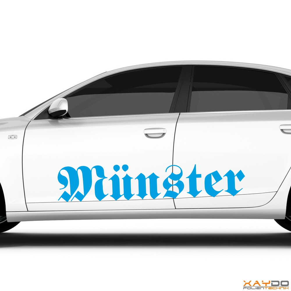 "Autoaufkleber ""Münster"""