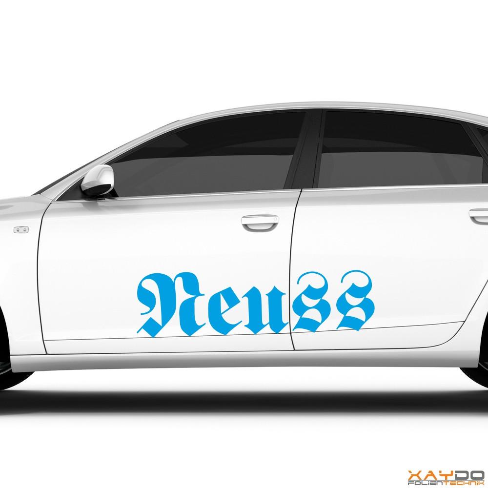 """Autoaufkleber """"Neuss"""""""