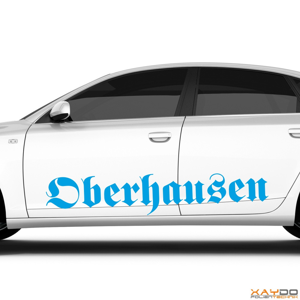 """Autoaufkleber """"Oberhausen"""""""