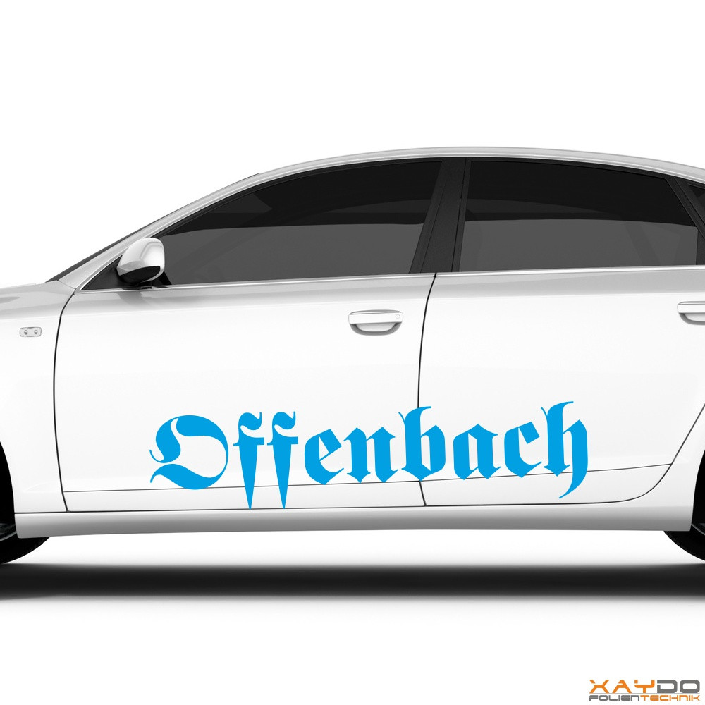 "Autoaufkleber ""Offenbach"""
