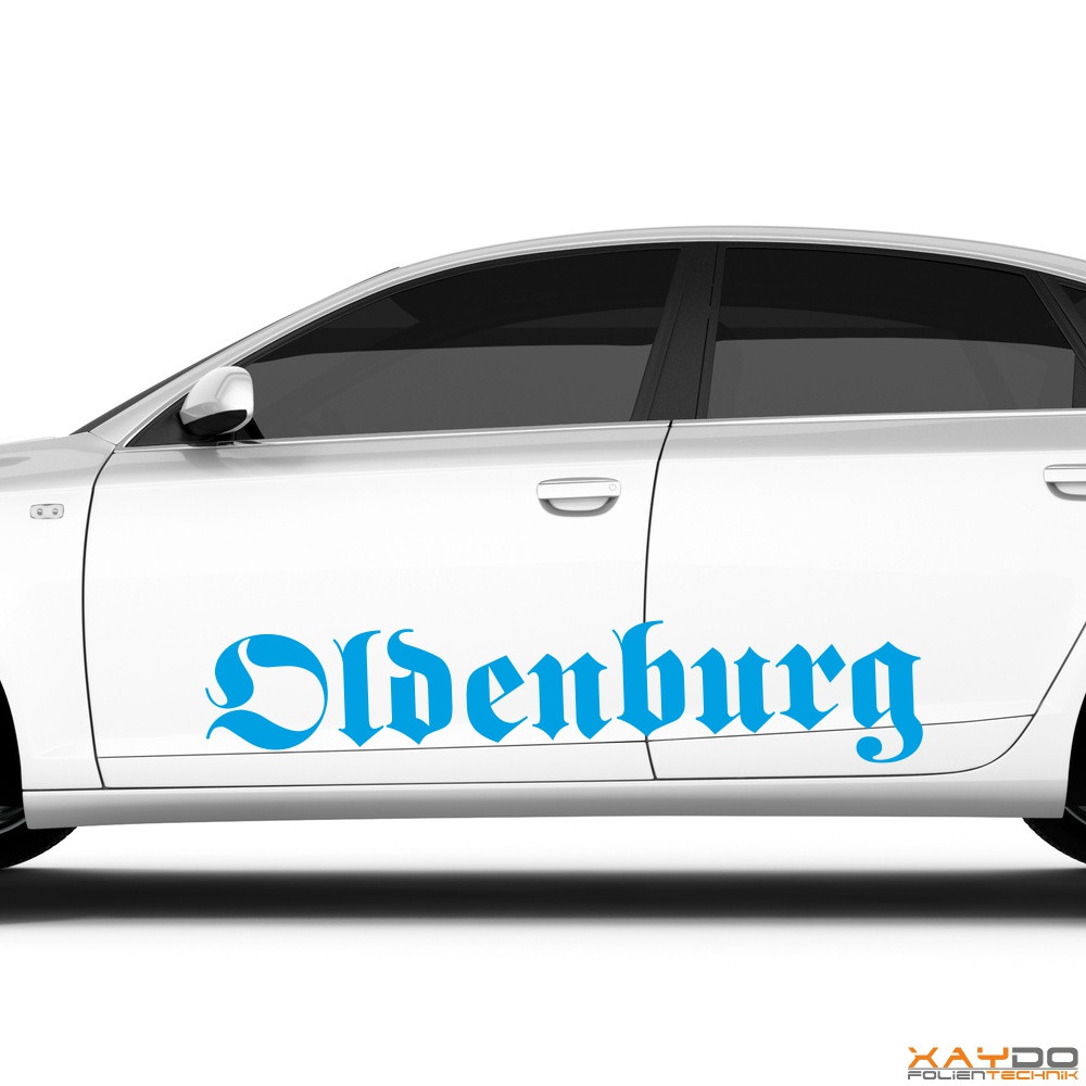 "Autoaufkleber ""Oldenburg"""