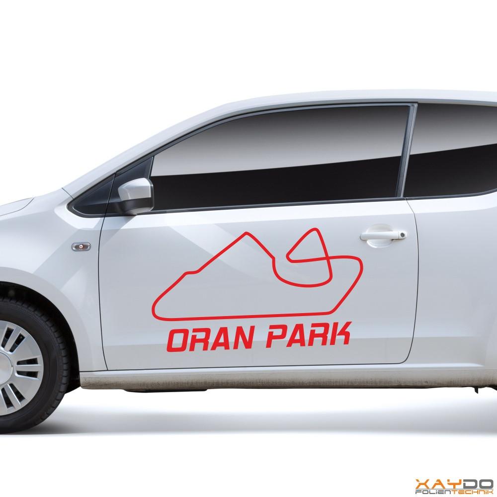 """Autoaufkleber """"Oran Park"""""""