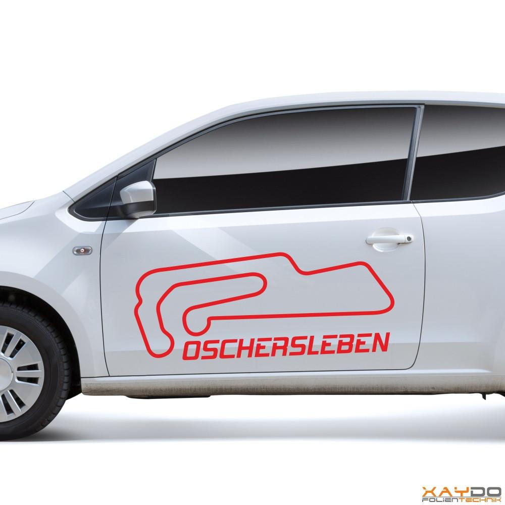 "Autoaufkleber ""Oschersleben"""