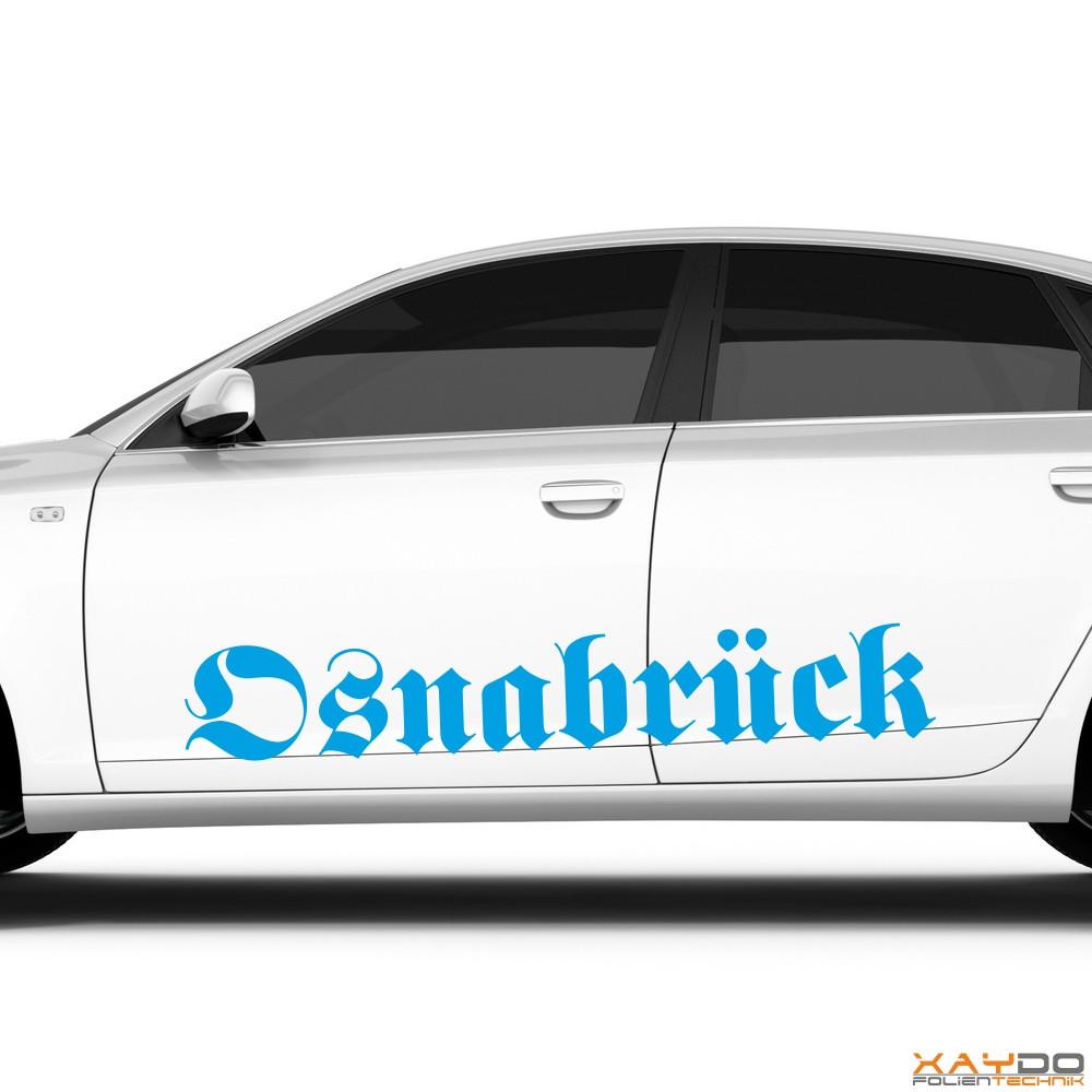 """Autoaufkleber """"Osnabrück"""""""