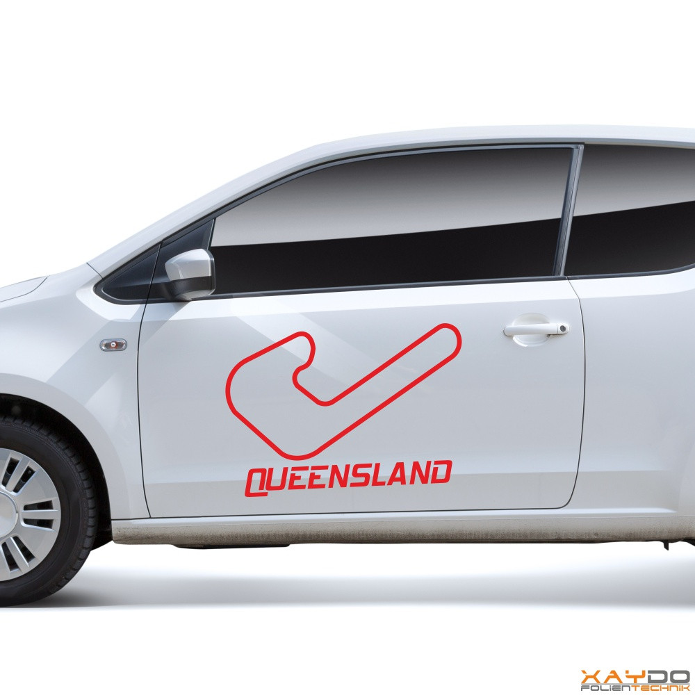 """Autoaufkleber """"Queensland"""""""