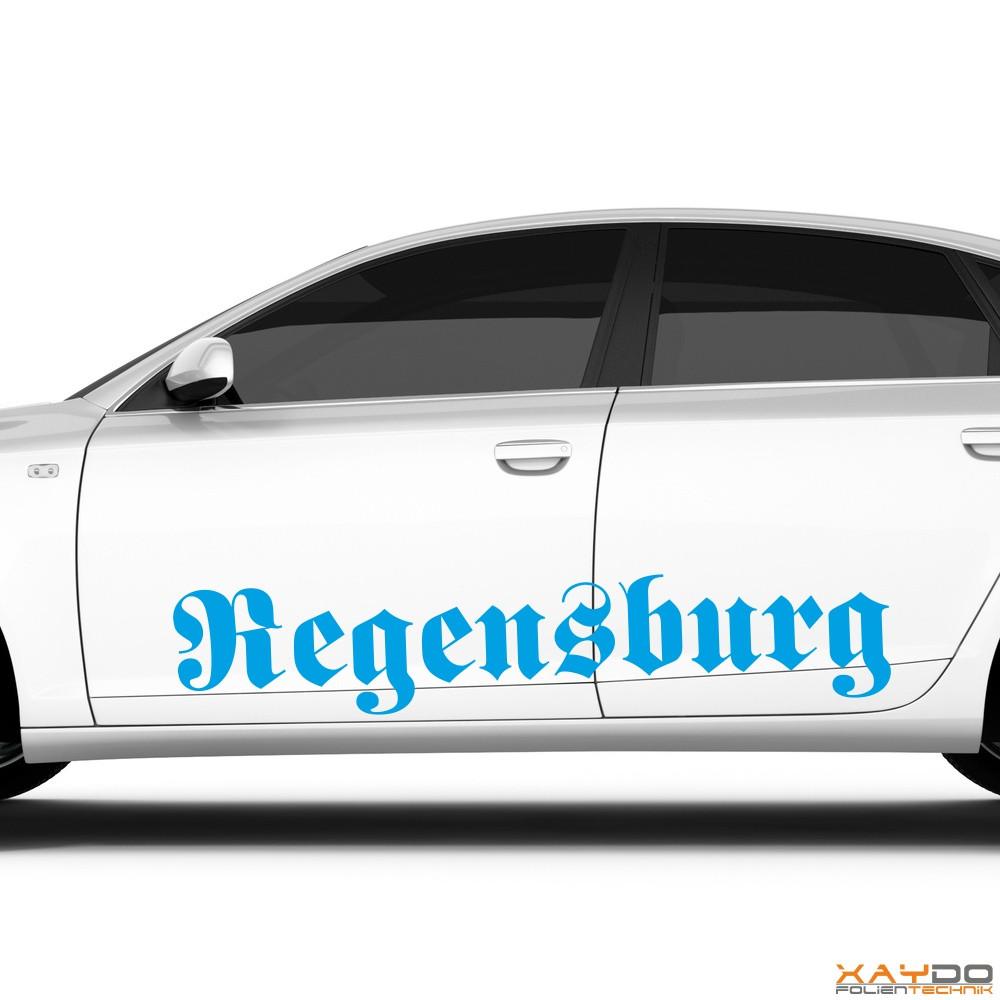 "Autoaufkleber ""Regensburg"""