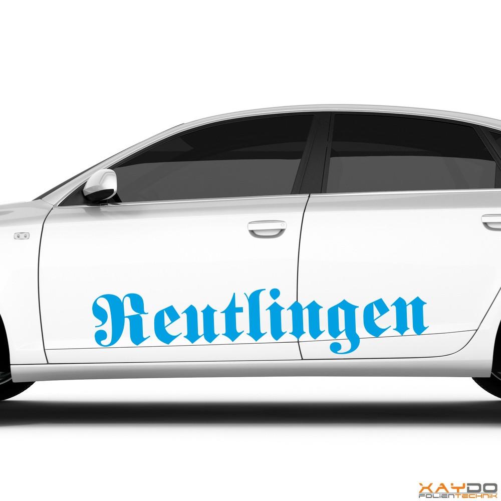 """Autoaufkleber """"Reutlingen"""""""