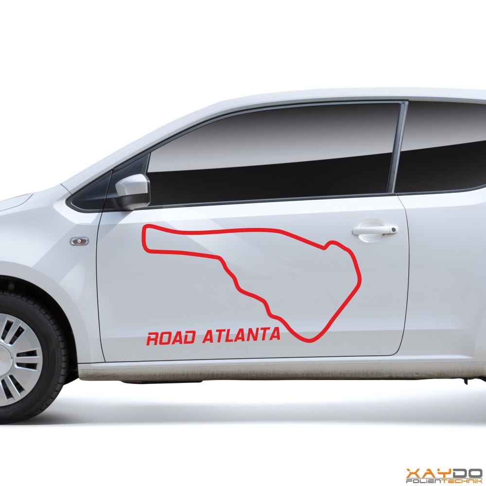 "Autoaufkleber ""Road Atlanta"""