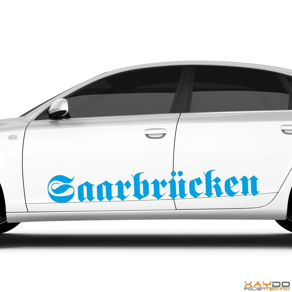 "Autoaufkleber ""Saarbrücken"""