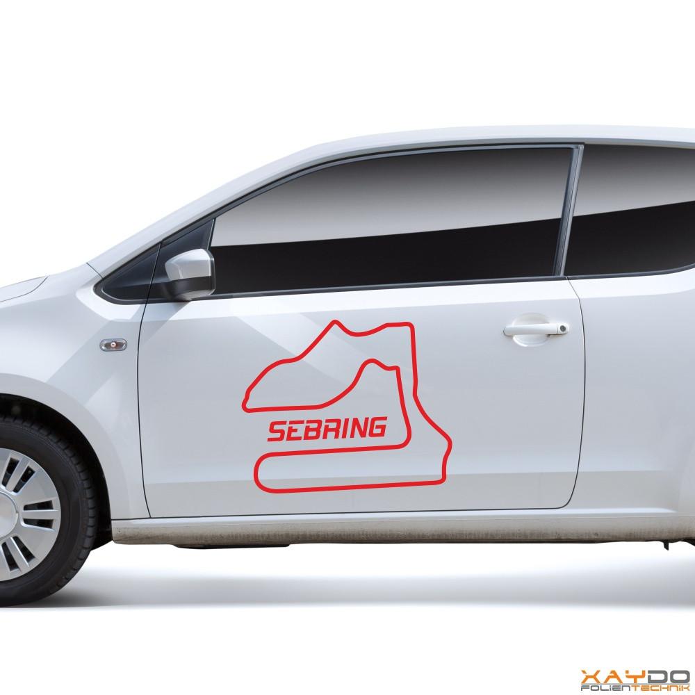 "Autoaufkleber ""Sebring"""