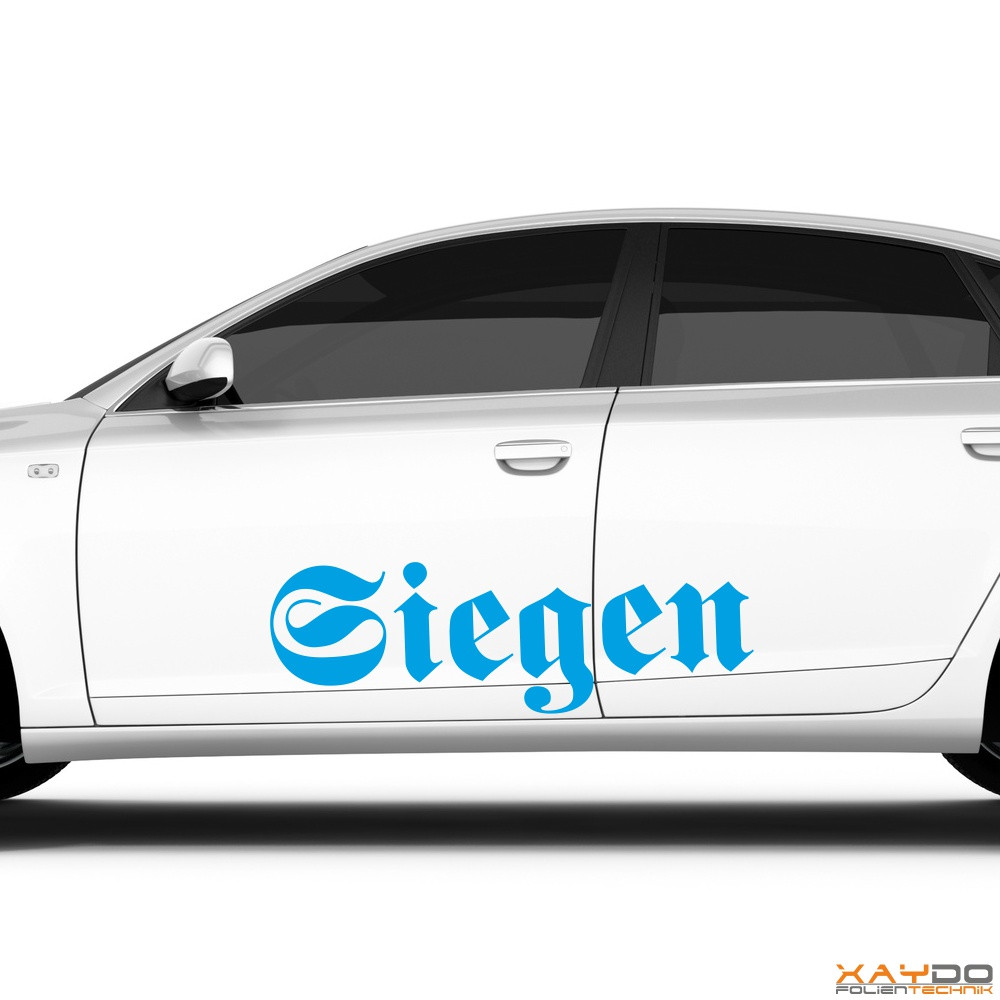 "Autoaufkleber ""Siegen"""