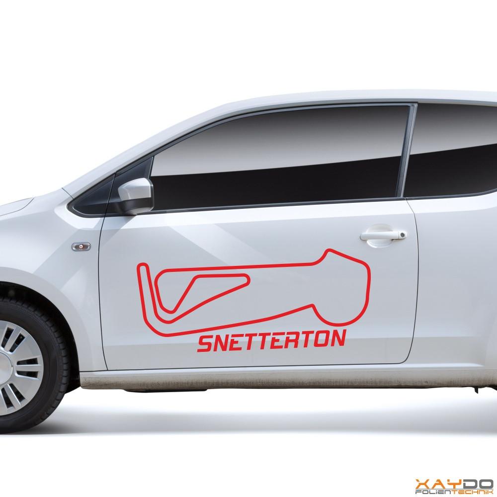 """Autoaufkleber """"Snetterton"""""""