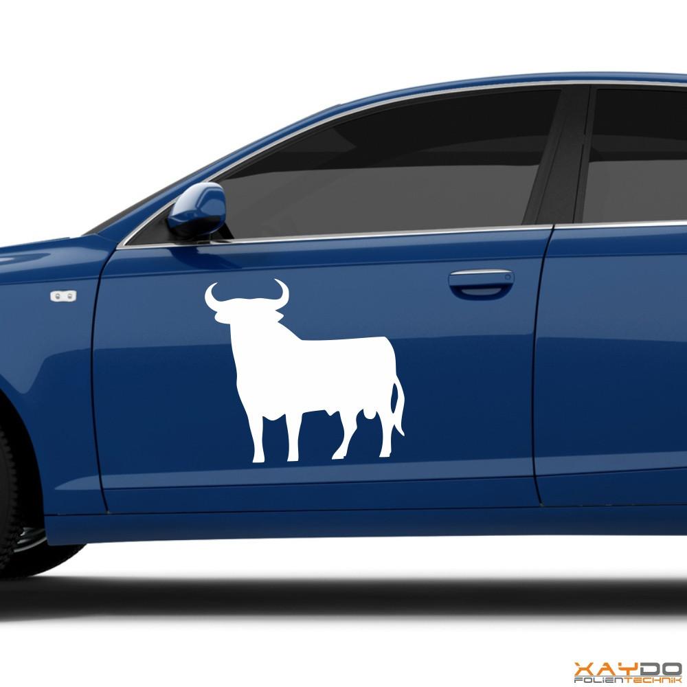 """Autoaufkleber """"Spanischer Stier"""""""