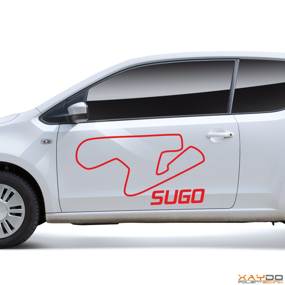 "Autoaufkleber ""SUGO"""