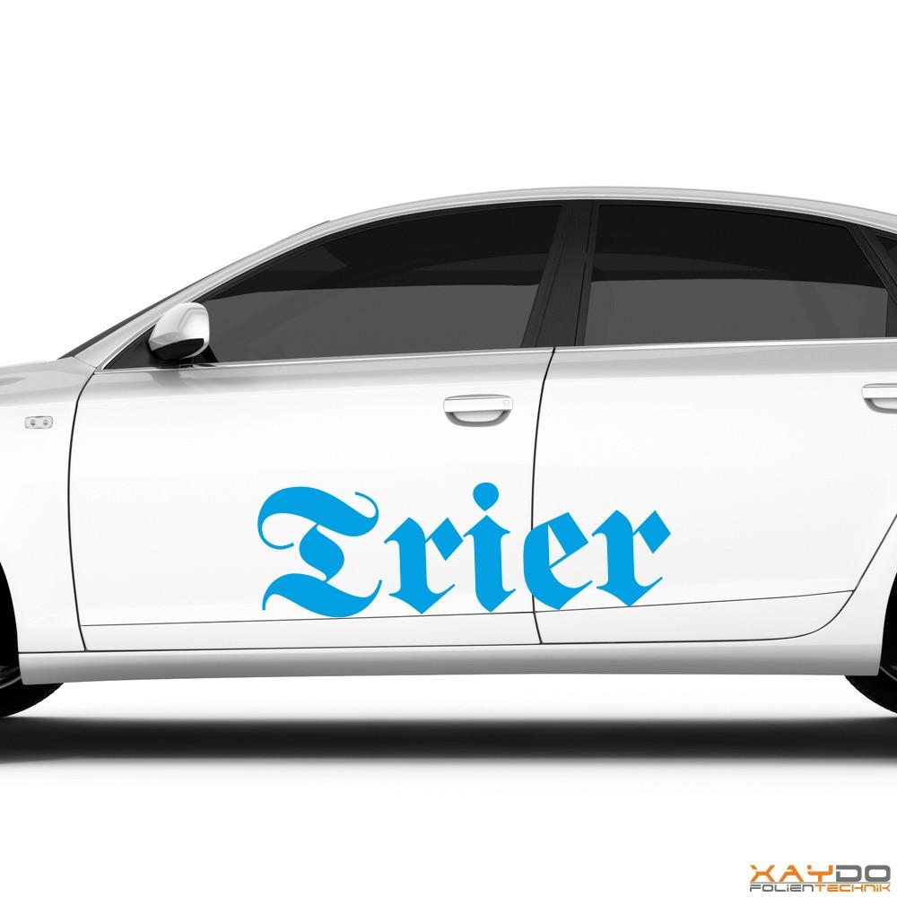 """Autoaufkleber """"Trier"""""""