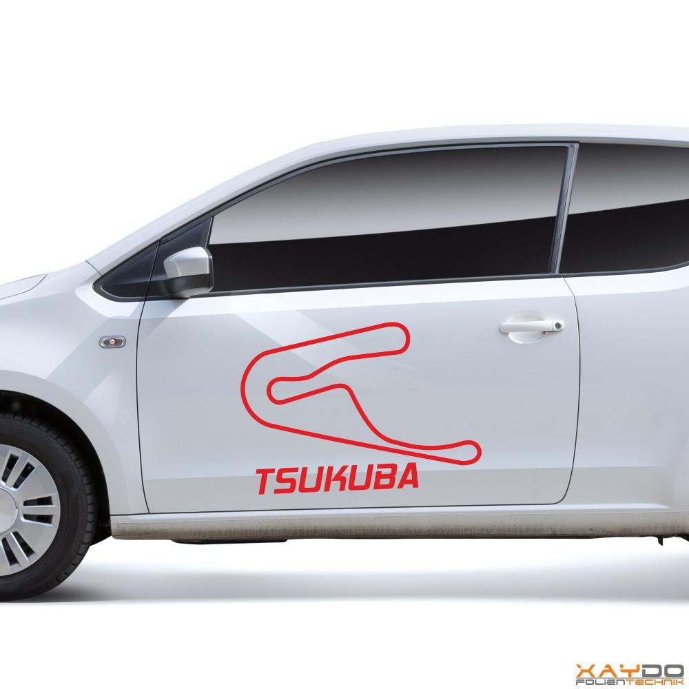 """Autoaufkleber """"Tsukuba"""""""